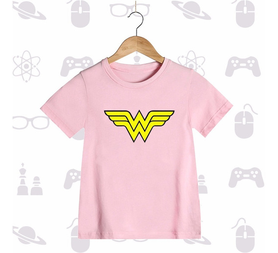 Playera Niña Mujer Maravilla Wonder Woman
