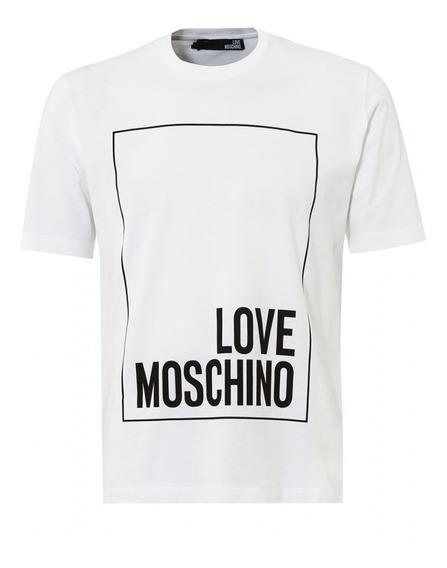 Envío Gratis Playera Moschino Cuadro Love Couture Moda Playe