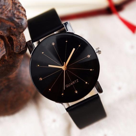 Relógio Original Luxo Unisex Masculino Feminino Alto Padrão