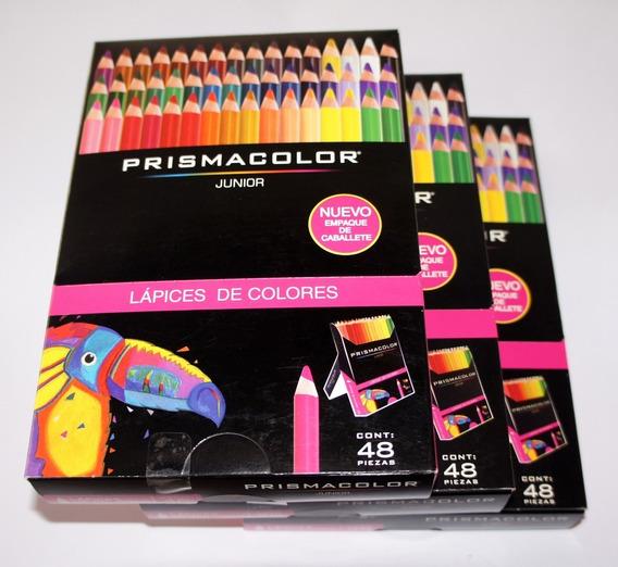 Colores Prismacolor 48 Piezas Junior Empaq Caballete Newell
