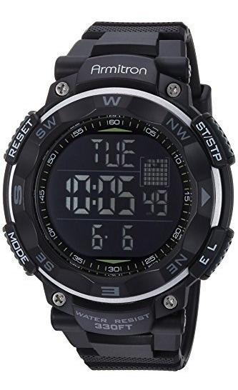 Armitron Sport 40/8254 - Reloj De Pulsera Digital Con Cronó