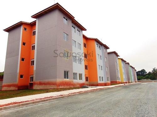 Apartamento A Venda No Bairro Roça Grande Em Colombo - Pr.  - Ap-1099-1