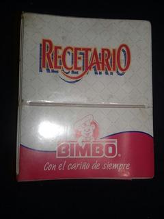 Recetario Bimbo