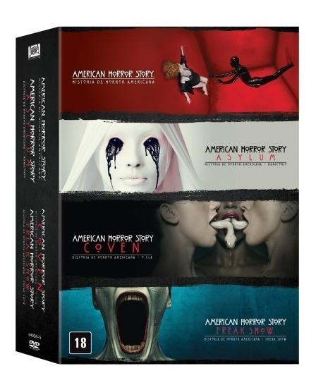 American Horror Story 1ª A 4ª Temporadas Original Lacrado