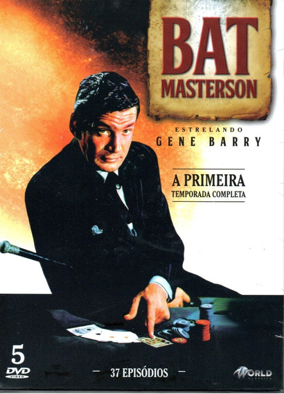 Dvd Bat Masterson 1ª Temporada Completa - Bonellihq L19