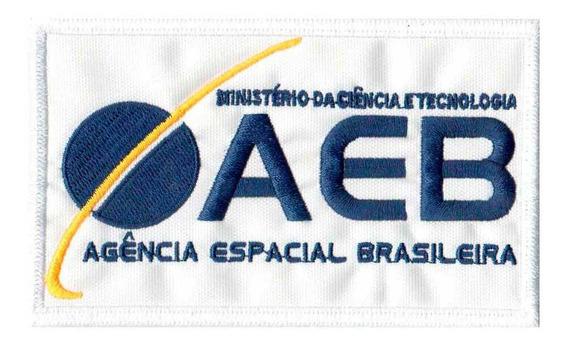 Patch P/ Jaqueta Agencia Espacial Brasileira Aeb Av20186