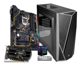 Computadora Pc Gamer Gtx 1650 4gb Intel I5 1tb 8gb 80+ Rog