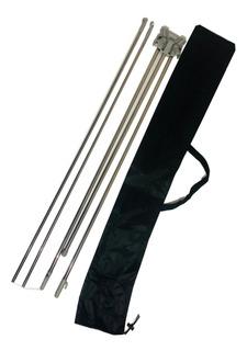 Banner Porta Display Aluminio 80x180 Cm Paq 10