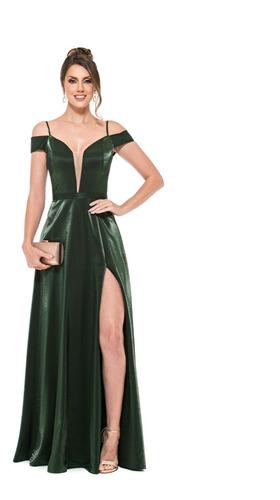 Vestido Ombro A Ombro Verde , Rosa, Marinho E Marsala