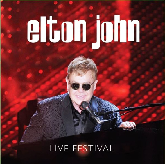 Vinilo Elton John Live Festival Lp