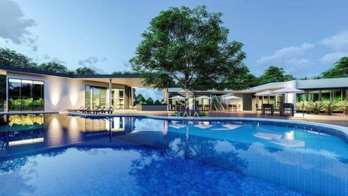 Lote À Venda, 260 M², Jardins Terra Brasilis, Condomínio Fechado, Financia- Centro  Aquiraz/ce - Te0272