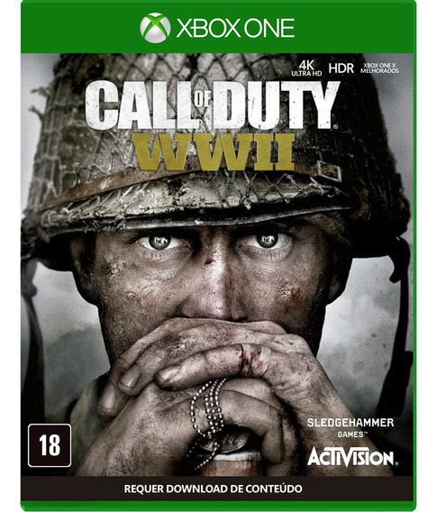 Call Of Duty Ww2 Xbox One Midia Física - Novo - Lacrado -