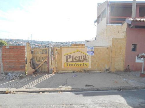 Terreno À Venda, 125 M² Por R$ 65.000,00 - Jardim Nova Hortolândia I - Hortolândia/sp - Te0683