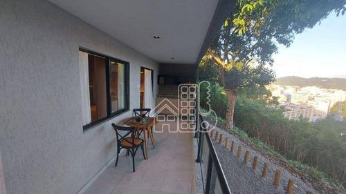 Apartamento Com 1 Dormitório À Venda, 40 M² Por R$ 245.000,00 - Icaraí - Niterói/rj - Ap4274