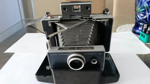 Câmera Fotografica.polaroid Land Câmera Automatic 100