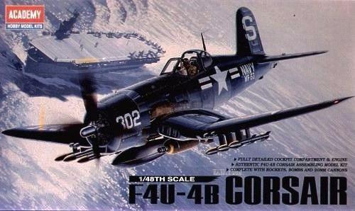 Academy 12267 F4u-4b Corsair Escala 1/48
