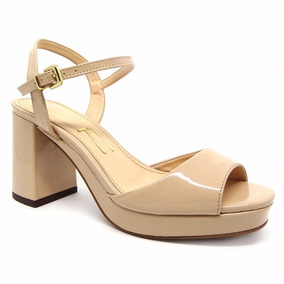 bd2b6e588 Sapato Meia Pata Salto Grosso Medio - Sapatos Pele com o Melhores ...