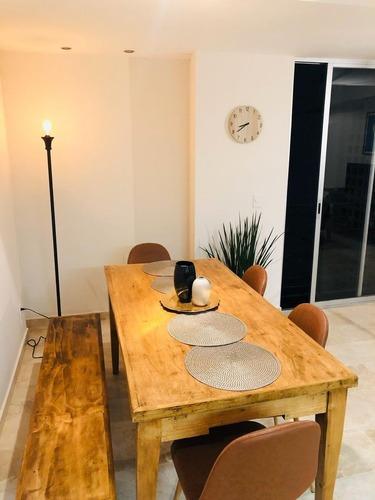 Rento Apartamento En La Roma Sur Amueblado