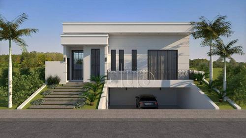 Casa Com 4 Dormitórios À Venda, 275 M² Por R$ 1.900.000,00 - Alphaville - Piracicaba/sp - Ca3710