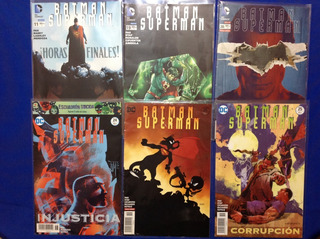 6 Dc Comics Batman Superman #11 19 20 24 25 Y 25 Variante