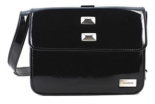 Bolsa Feminina Transversal Pequena Dumond Preto Shoulder Bag