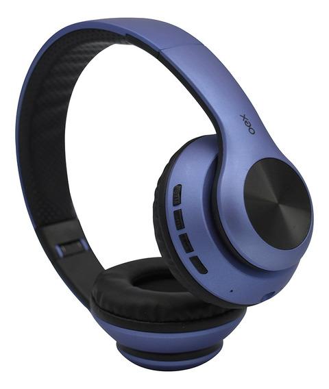 Fone Ouvido Headset Glam Bluetooth Microfone Hs311 Azul Oex