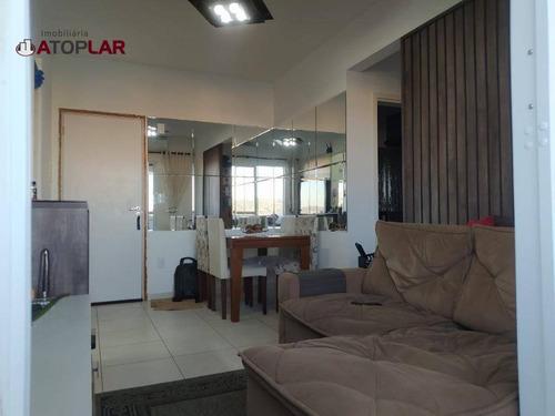 Apartamento À Venda, 61 M² Por R$ 230.000,00 - Areias - São José/sc - Ap1823