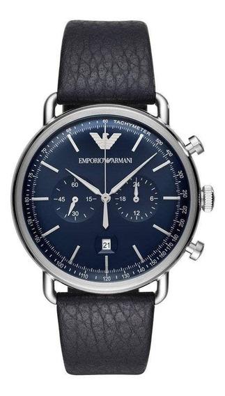 Relógio Empório Armani Classic Azul Ar11105/0an