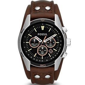 Relógio Masculino Fossil Coachman Ch2891 Couro Marrom