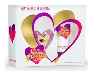Love Forever Love Mujer Estuche 80ml Edt + 100ml Body Lotion