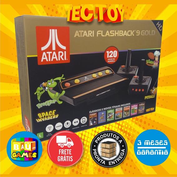 Atari Flashback 9 Gold Lançamento Tectoy Com Entrada Sd Card