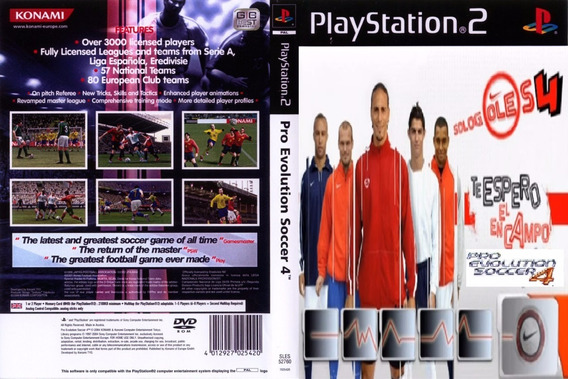 Pes 4 Solo Goles - Playstation 2 Futebol Patch Pro Evolution