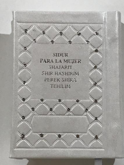 Libro Sidur Para La Mujer Shajart Tehilim Piel Hebreo