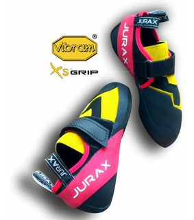 Zapatillas De Escalada Vibram Jurax Yana V1 Amarillo/rojo