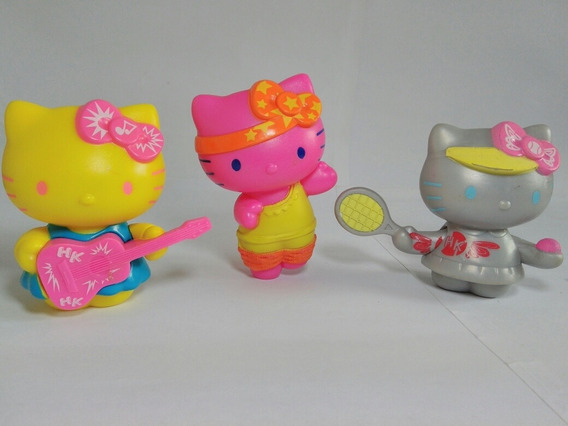 Bonecas Hello Kitty Kit Com 3