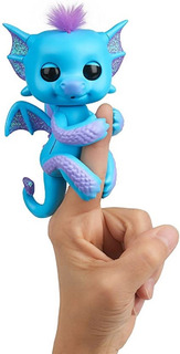 Muñeco Fingerlings Bebe Dragon Con Glitter