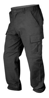 Pantalon Cargo Secado Rapido Desmontable Trekking Negro