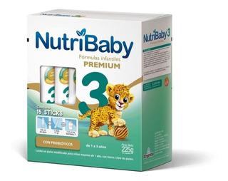 Leche de fórmula en polvo Ethical Pharma NutriBaby 3 por 15 unidades de 15g
