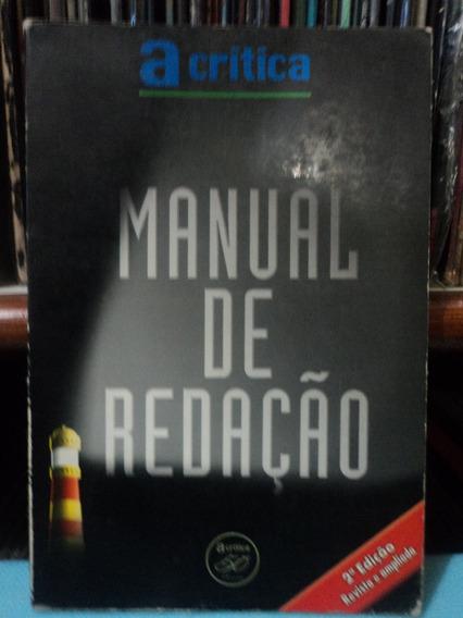 Livro:manual De Redação:acrítica:50 Anos:segunda Edição