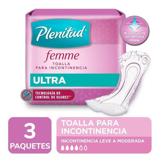Plenitud Toalla Ultra Femme X 20 Unidades Pack X 3