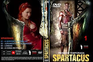 Spartacus - Seriado Completo Digital Em 09 Dvds
