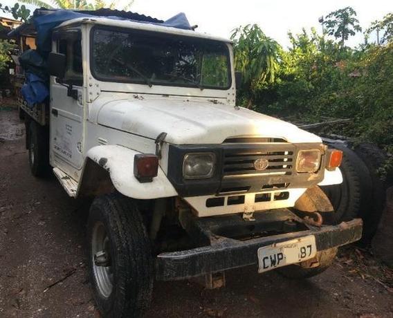 Toyota Bandeirantes 3.7 14b 4x4 1995/1995 Diesel Segundo Do