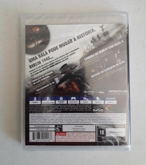 Game Sniper Elite V2 Ps3 Mídia Física Novo Lacrado Play 3 Cd