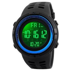 Relógio Digital Skmei Conquer Aprova Dágua 50mt-azul