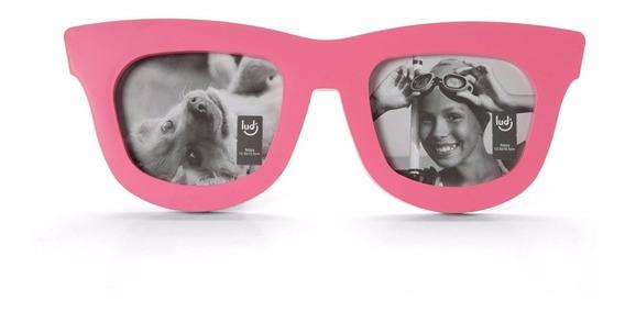 Porta Retrato Óculos Duplo Decoração Lol
