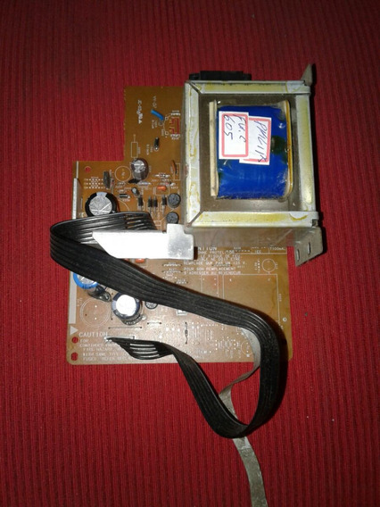 Transformador Com A Placa Do Som Philips Fé.c605