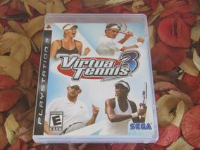 Virtua Tennis 3 - Mídia Física Ps3 Frete Cr R$ 11,98