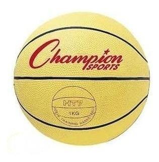 Balon De Basket Champion De Sobrepeso 3lb Goma L3o