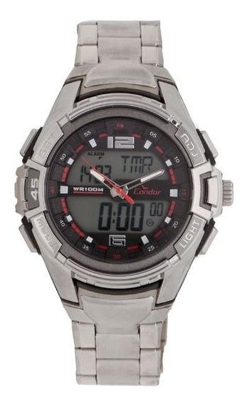 Relógio Condor Masculino Coad1050ba 8p Analógico Digital