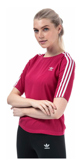 Camiseta adidas Originals 3 Stripes Pride Pink - Original